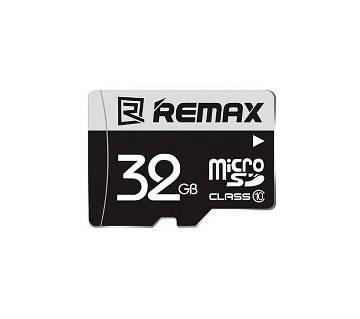 REMAX Micro Sd Memory Card - 32GB