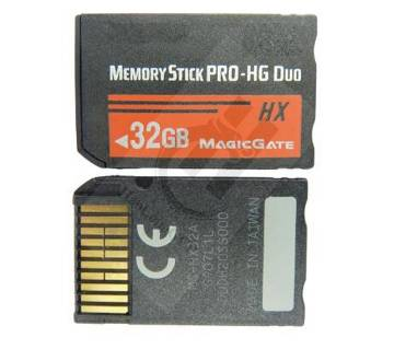 Memory Stick HX For Sony PSP Accessories 32GB MS Pro Duo Memory Card
