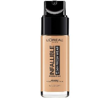 LOral Paris Infallible Up to 24HR Fresh Wear Foundation-30ml-France