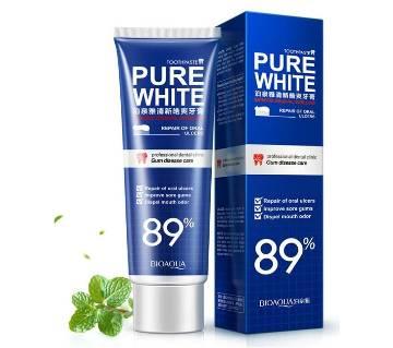 Bioaqua Pure White toothpaste - Korea
