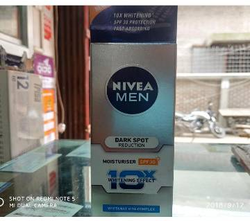 Nivea men Dark spot Reduction ক্রিম (Malaysia)
