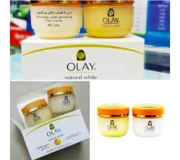 OLAY NATURAL WHITE SPOT REMOVING DAY AND NIGHT CREAM (Thailand)