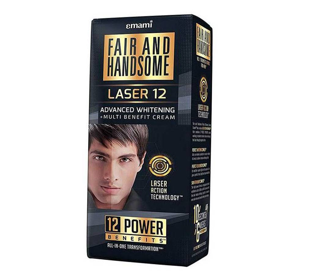 Fair and Handsome Laser 12 অ্যাডভান্সড হোইটেনিং এন্ড মাল্টি বেনিফিট ক্রিম - ইন্ডিয়া বাংলাদেশ - 913507