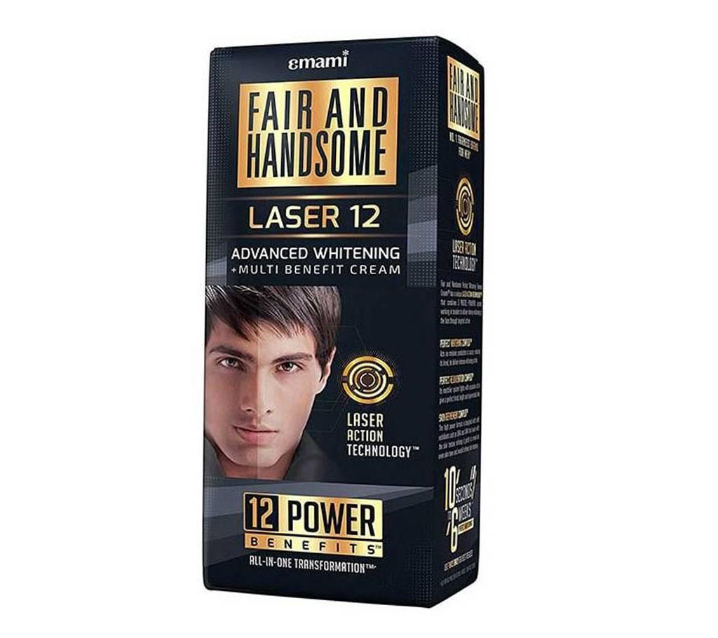 Fair and Handsome Laser 12 Advanced হোইটেনিং এন্ড মাল্টি বেনিফিট ক্রিম - ইন্ডিয়া বাংলাদেশ - 913509
