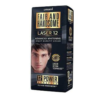 Fair and Handsome Laser 12 Advanced Whitening and Multi Benefit cream - India