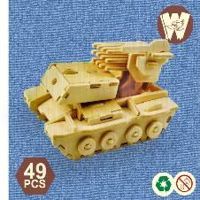3D Wooden Puzzle Toy
