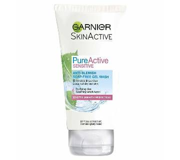 Pure Active Sensitive Anti Blemish Soap Free Face Wash 150ml 7ES