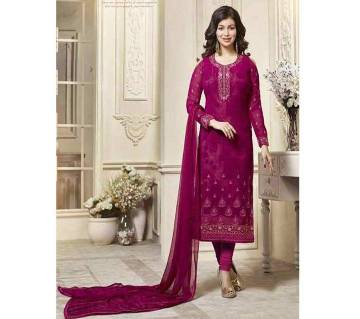 Lavina Latest Collection Semistitched Embroidery Georgette Three pcs