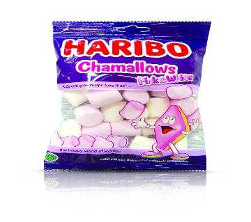 HAIRBO CHAMALLOWS Candy Pink & White 70g
