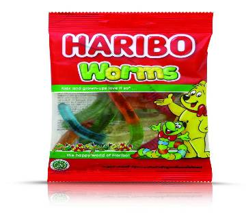 HARIBO WORMS CANDY 80g