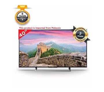 "Sony smart TV KLV-40R352E 4K - 40"" - Black"