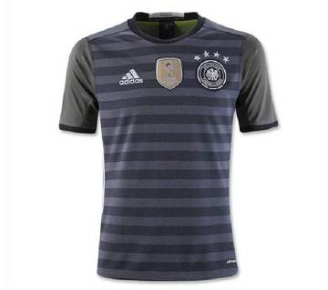 Mens Half Sleeve World Cup Away Jersey (Germany)