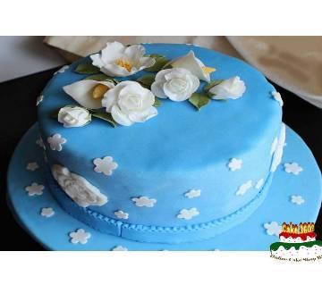 Vanilla Blue Flavor Cake - 1 pound