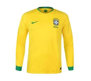 2018 World Cup Brazil Long Sleeve Home Jersey (Copy)