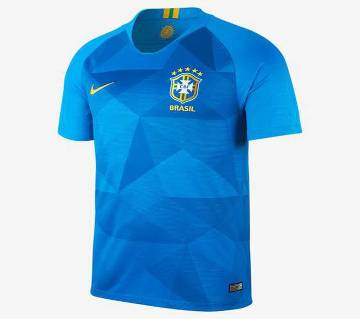 2018 World Cup Brazil Short Sleeve Away Jersey (Copy)