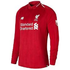 2018 - 19 Liverpool Long Sleeve Home Jersey (Copy)