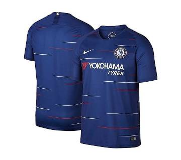 2018-19 Chelsea Short Sleeve Home Jersey (Copy)