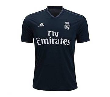 2018-19 Real Madrid Short Sleeve Away Jersey (Copy)