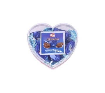 Bifa Heart Shaped Box Chocolate - 250gm