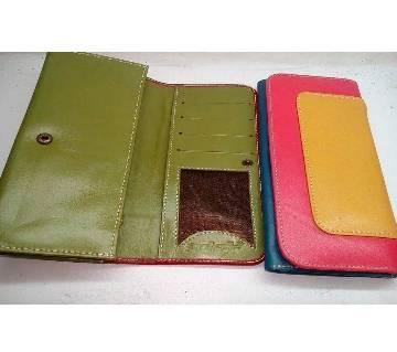 Ladies Long Shaped Wallet