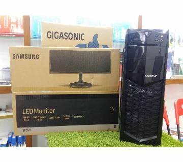 "intel Core i3 HDD-500GB RAM 4GB With Samsung 19""LED"