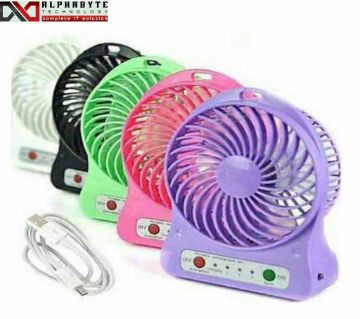 Portable rechargeable mini usb fan