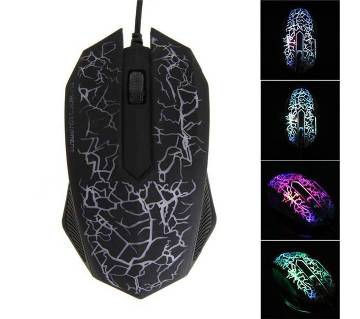Multi Colors LED USB Wired 3D Gaming Mouse