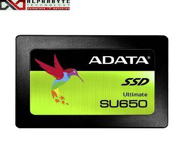ADATA SU650 480GB 2.5 Inch SATAIII SSD