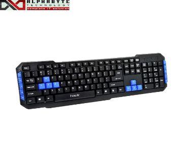 Havit KB327 Black USB Multimedia Keyboard with Bangla