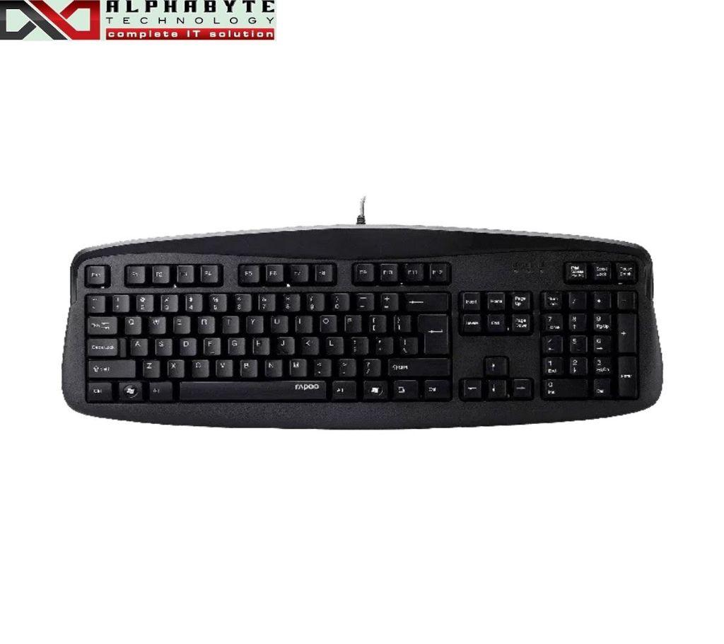 Rapoo N2500 Black USB কিবোর্ড উইথ বাংলা ইন্টারফেস বাংলাদেশ - 988166
