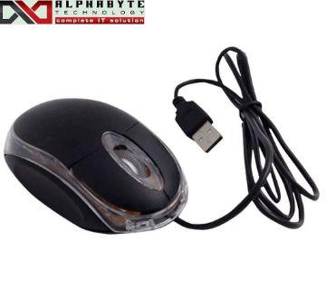 Mini USB Optical Mouse lighting