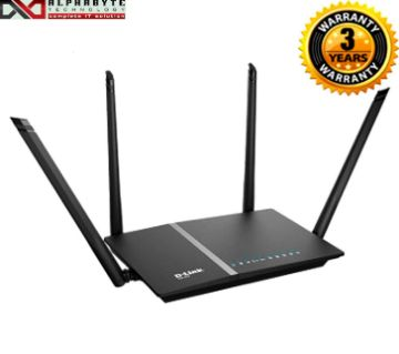 D-Link 1200MBPS wireless Wi-Fi Dual-Band Gigabit Router DIR-825