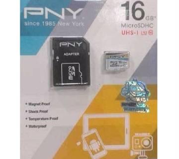 PNY 16GB memory card