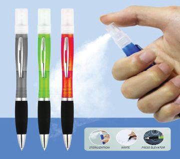 Pen Hand Sanitizer Sprayer (3 Working by 1 Pen) - Sanitizer Spray Refillable Ballpoint Pen