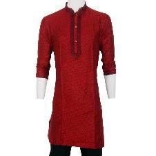 Indian Semi Long Silk Punjabi