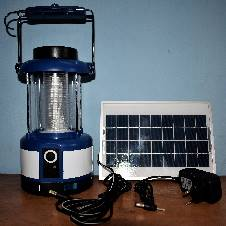 Portable Solar Panel & Electric Line System package