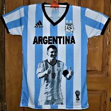 2018 World Cup Exclusive Argentina Jersey (Copy)