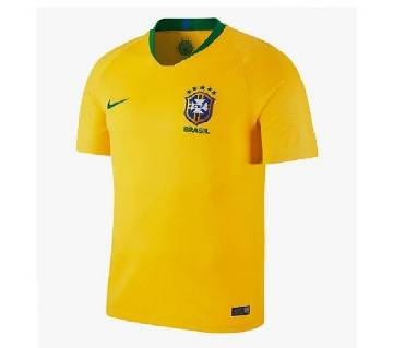 2018 World Cup Brazil Home Short Sleeve Jersey (Copy)