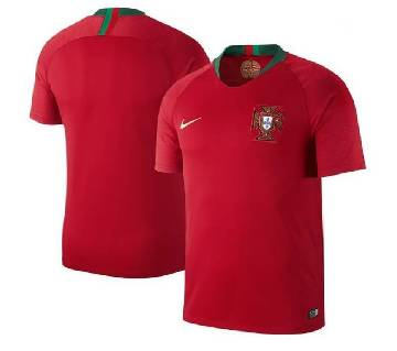 2018 World Cup Portugal Home Short Sleeve Jersey (Copy)