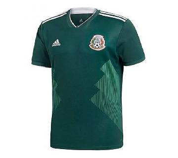 2018 World Cup Mexico Home Short Sleeve Jersey (Copy)
