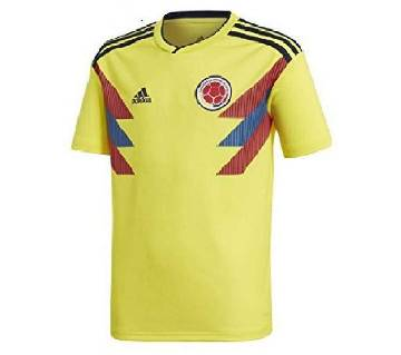 2018 World Cup Colombia Home Short Sleeve Jersey (Copy)