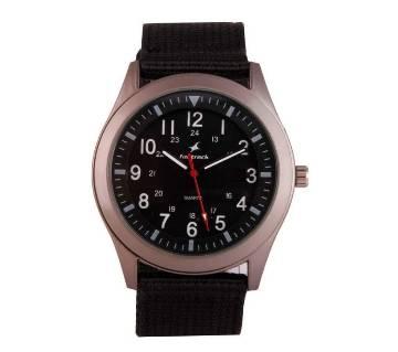 Fastrack Wrist Watch For Men - Black