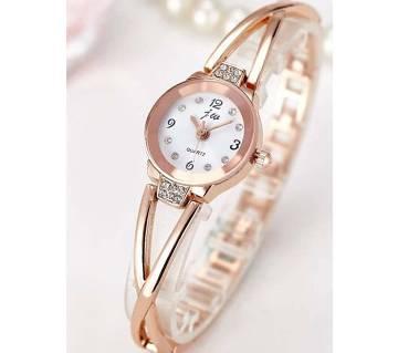 Wrist Watch For Women- Golden