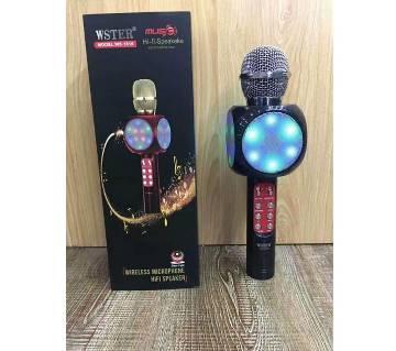 Wster WS-1816 Karaoke KTV MIC Portable Bluetooth Speaker
