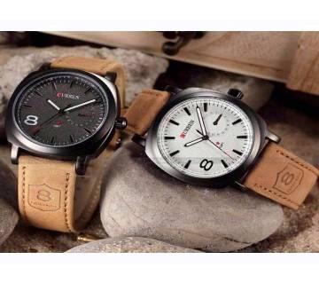 Curren Wrist Watch 2 Pieces Combo
