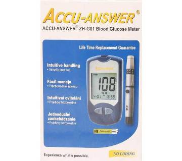 ACCU-ANSWER Blood Glucose Meter