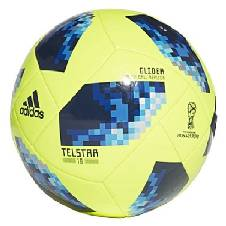 Telstar Glider FIFA World Cup 2018 Football - Size 5 - Yellow