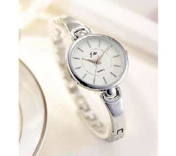 Ladies Stainless Steel Analogue Wrist Watch - Silver
