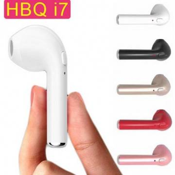 HBQ-i7R Single Stereo Bluetooth Headphone - white