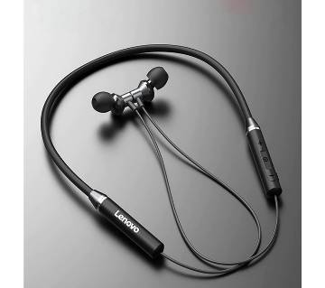 Lenovo Wireless Headsets HE05 Sport Earphone Magnetic Hanging Bluetooth 5.0 Call noise reduction 8 Hours Music Control